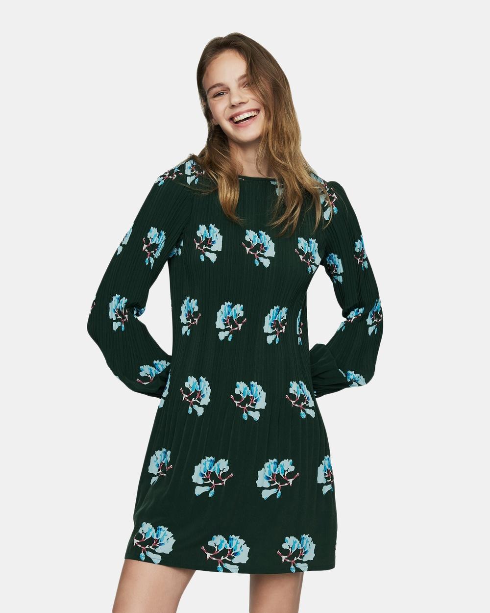 Maje Print Rockinett Dress