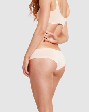 Boody Organic Bamboo Eco Wear 5 Pack Brazilian Bikini - Bikini Briefs (Mixed Colours)