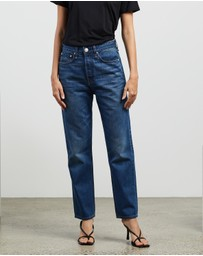 rag & bone - Maya High-Rise Ankle Slim Jeans