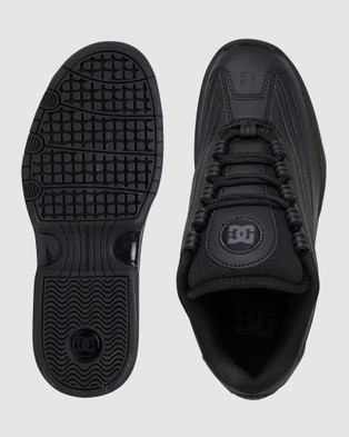 DC Shoes Womens Legacy Lite Shoe - Sneakers (Black/Black/Black)