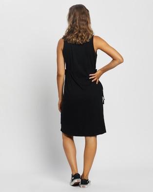 Silent Theory Lily Midi Dress - Dresses (Black)