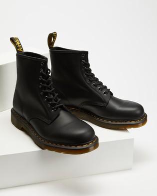 Dr Martens Unisex 1460 Nappa 8 Eye Boots - Boots (Black Nappa)