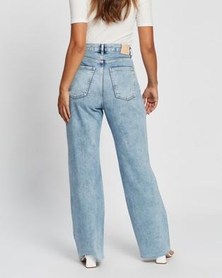 M.N.G Daniela Jeans - High-Waisted (Open Blue)