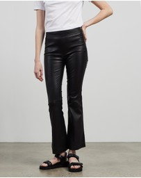 Helmut Lang - Full Leather Leggings