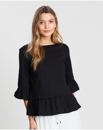 Vero Moda - Tally 3/4 Sleeve Top