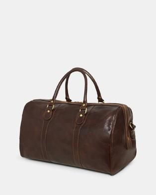 Republic of Florence The Beltrami Duffle Bag - Duffle Bags (Chocolate)