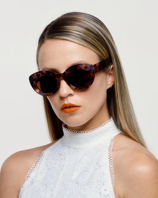 Reality Eyewear Marmont - Accessories (Lilac Turtle)