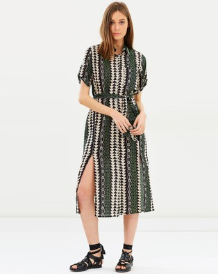 Solito – Northern Lights Shirt Dress Northern Lights