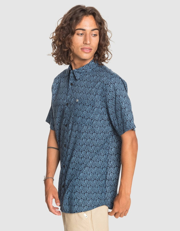 Quiksilver - Mens Soul Wave Short Sleeve Shirt