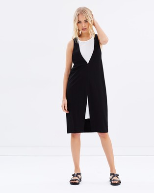 MINKPINK – Plunge Layered Mini Dress