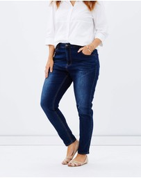 Love Your Wardrobe - Dark Wash Jeans