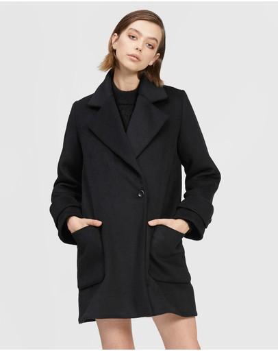 Bul Volpe Coat Black