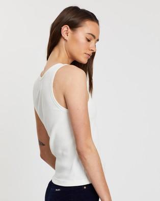Rolla's Miller Rib Tank - T-Shirts & Singlets (White)