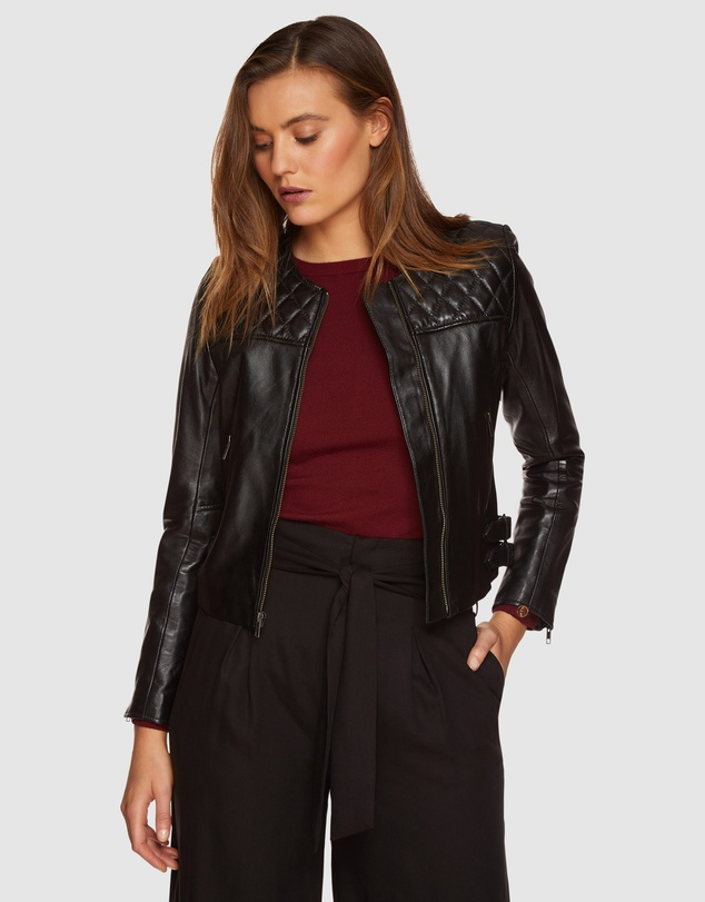 Oxford - Rizzo Leather Jacket