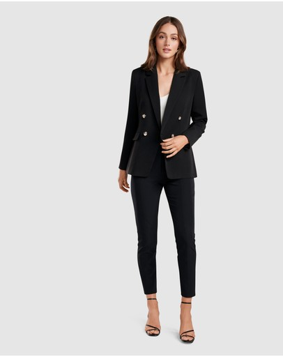 Forever New Leona Blazer Black