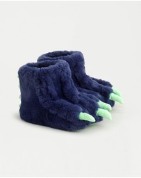 J.Crew - Furry Dino Slippers - Kids