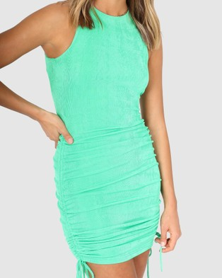 BY.DYLN Charlotte Dress - Dresses (Green)