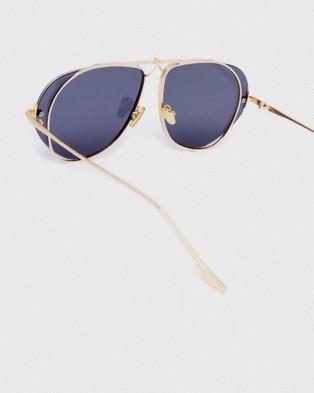 Pilgrim - Birdie Aviator Sunglasses (Gold)