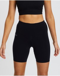 Brasilfit - Supplex High-Waisted Bike Shorts