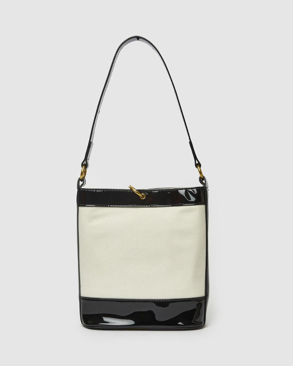 Brie Leon Mini Bucket Bag Handbags Black