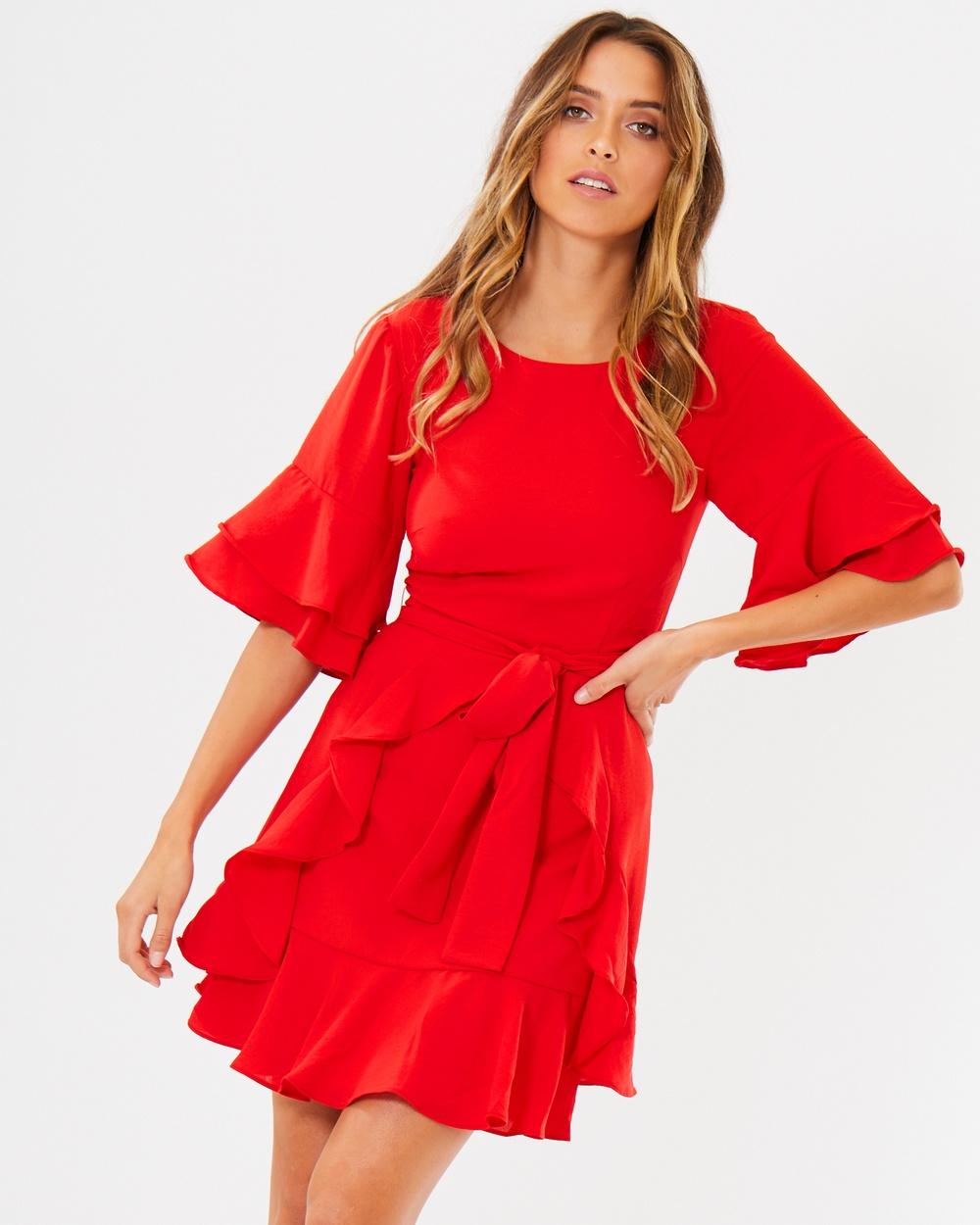 Tussah Cecilia Ruffle Dress Dresses Poppy Cecilia Ruffle Dress
