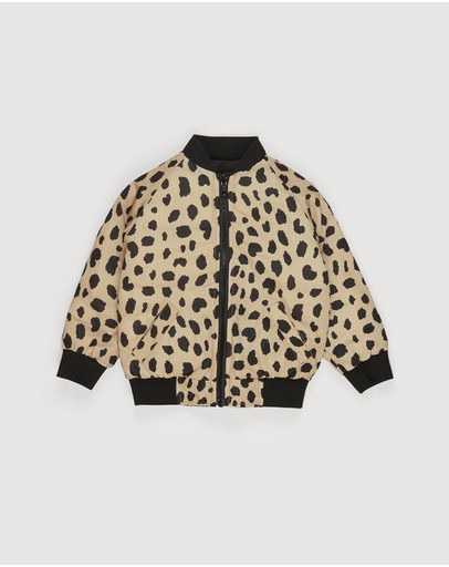 Huxbaby - Animal Spot Reversible Bomber - Kids