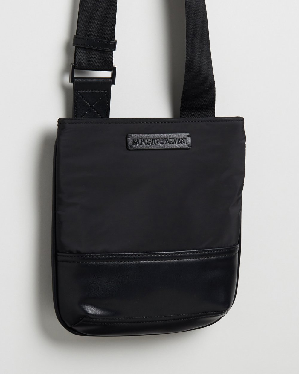 832519d5c51f Small Flat Messenger Bag by Emporio Armani Online