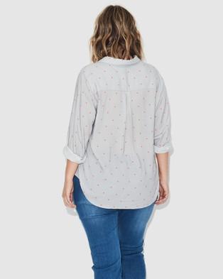 17 Sundays Mini Spot Shirt - Shirts & Polos (Grey)