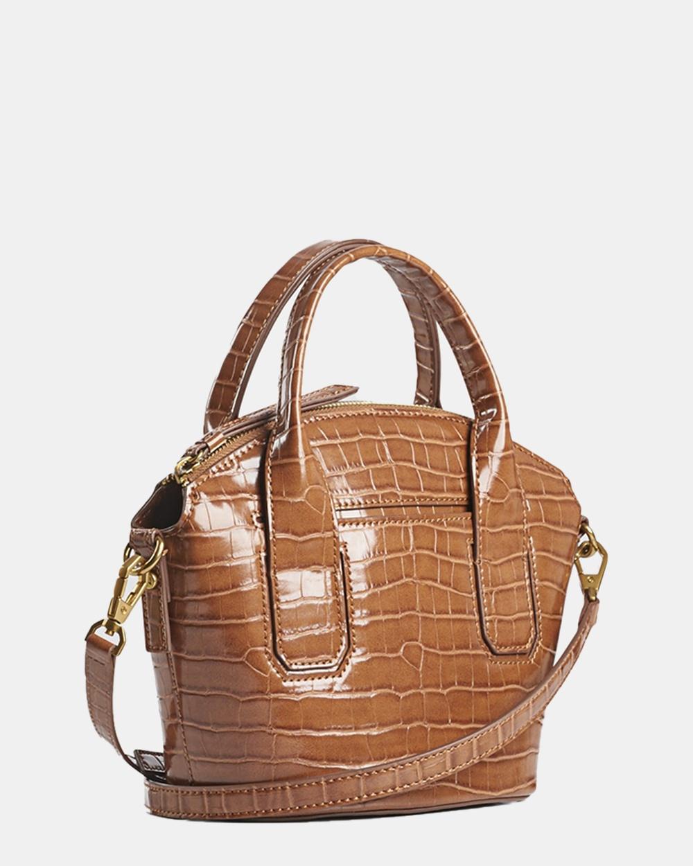 Naturalizer Kiley Shoulder Bag Handbags Brown Handbags Australia