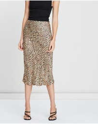 Silk Laundry - Bias Cut Skirt