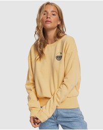 Roxy - Womens Radio Silence B Cropped Jumper