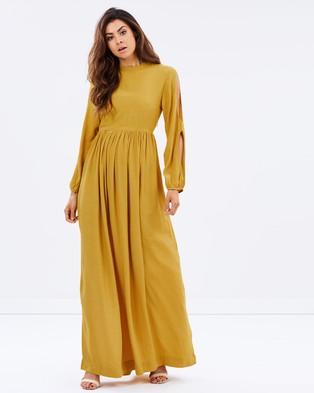S/W/F – Alfie Dress – Dresses (Mustard)