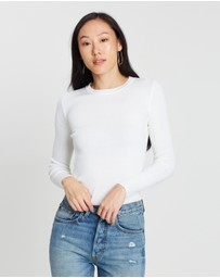 Forcast - Tania Crew Neck Knit Top