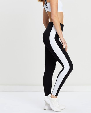 VILLIN Kayla Pants - Full Tights (Black & White)