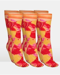 Pizza Socks Hawaiian - 3 Pack