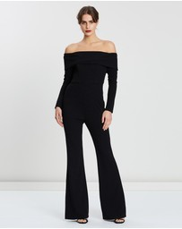 Bariano - Angelica Off-Shoulder Jumpsuit