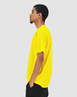 Huffer Men's Sup Tee Upstream - T-Shirts & Singlets (Yellow)