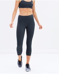 Running Bare - Ab Waisted Fight Club 7/8 Tights