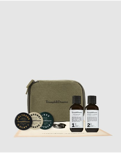Triumph & Disaster - Road Less Travelled - Dopp & Haircare Kit