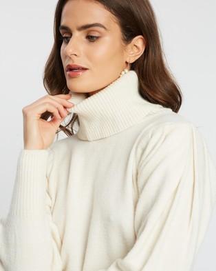 M.N.G Oslo Sweater - Jumpers & Cardigans (Light Beige)