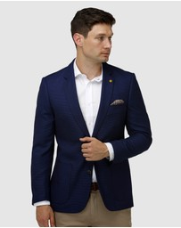 Brooksfield - Modern Textured Plain Blazer