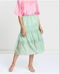 See By Chloé - Solid Organza Skirt