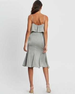 CHANCERY Raelynn Midi Dress - Bridesmaid Dresses (Sage Green)
