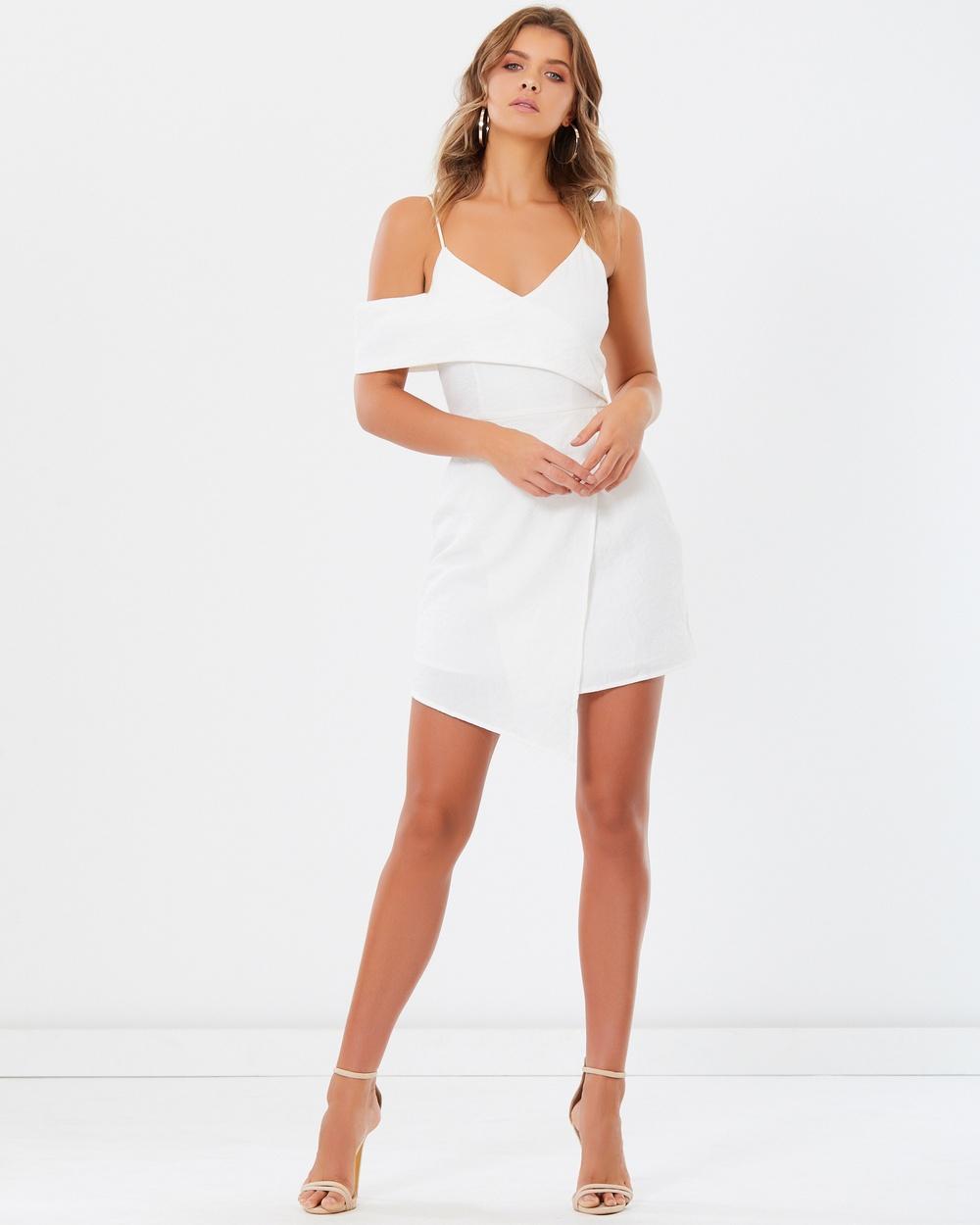 Tussah Bambi Dress Bridesmaid Dresses White Bambi Dress