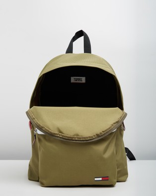 Tommy Jeans TJM Cool City Backpack - Backpacks (Martini Olive)