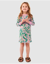 Kip&Co - Woodstock Lilac Long Sleeve Nightie - Kids