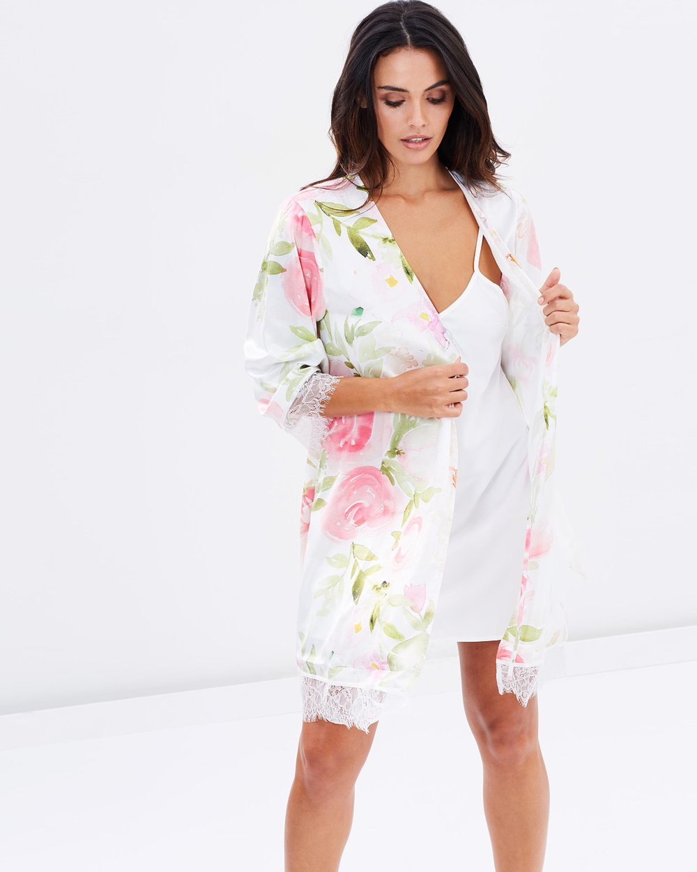 Fleur Floral Robe by Homebodii Online  0d59155e9
