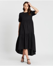 Atmos&Here - Emma Tiered Hem Dress