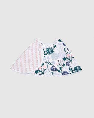 Aden & Anais Essentials Burpy Bib - Bibs (Flowers Bloom English Garden)