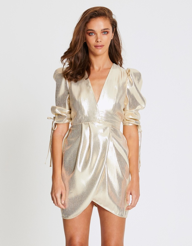alice McCALL - Astral Plane Cap Sleeve Mini Dress